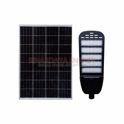 lampu jalan tenaga surya model two in one 60watt