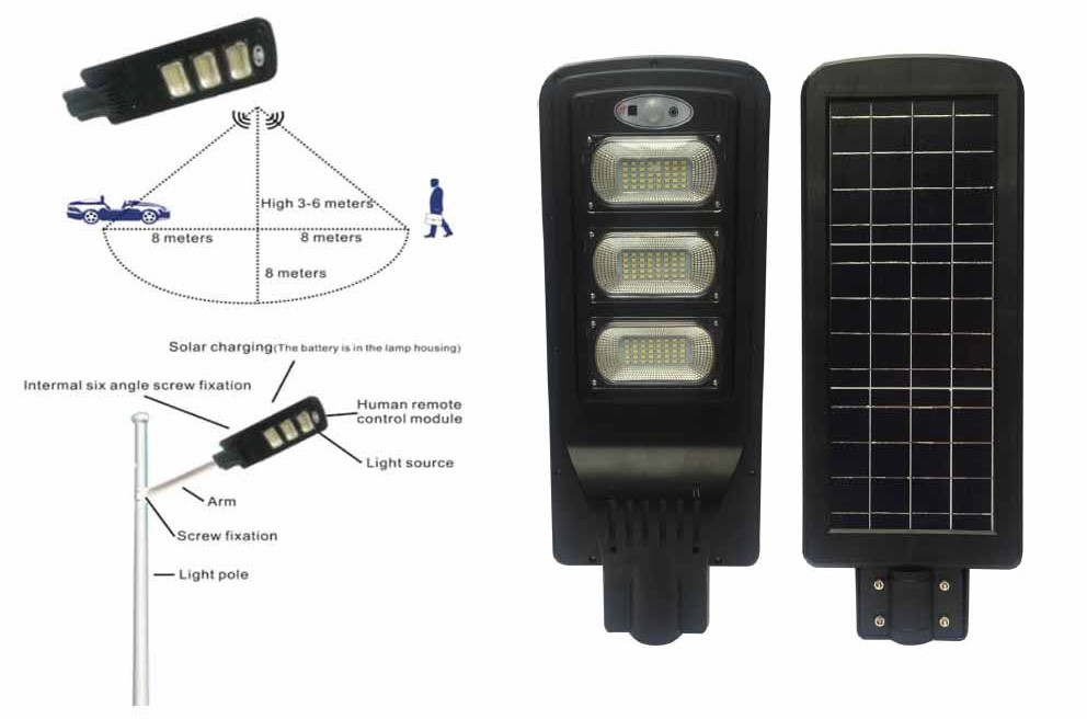 solarcell all in one 60w murah
