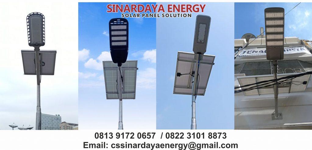 Lampu tenaga surya program dana desa