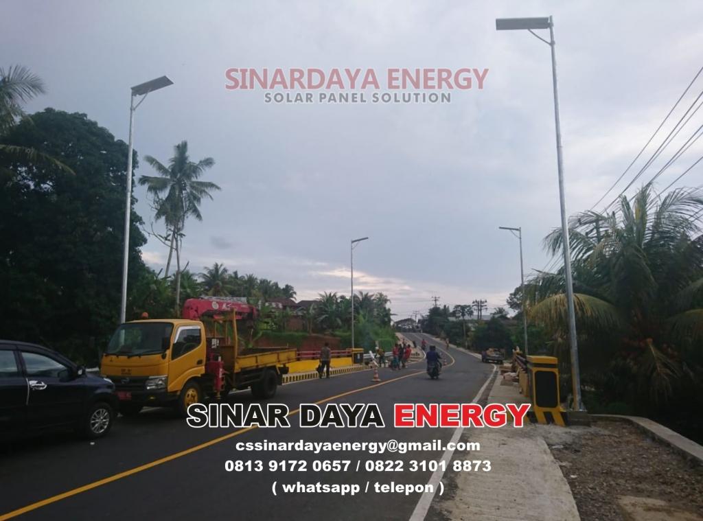 paket lampu tenaga surya untuk dana desa